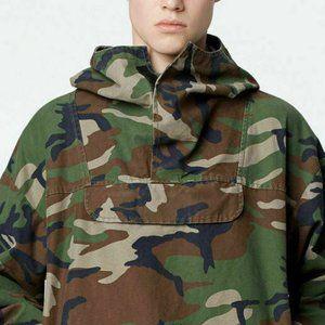 Fear Of God FOG Mens Camo Military Jacket Pullover